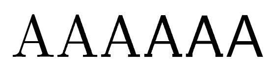 フォントのグラデーション